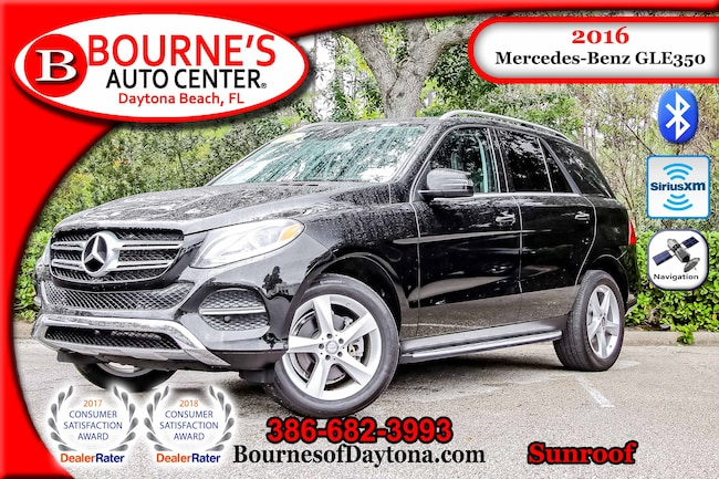 2016 Mercedes-Benz GLE 350 Sunroof/ Nav/ XM/ Leather SUV