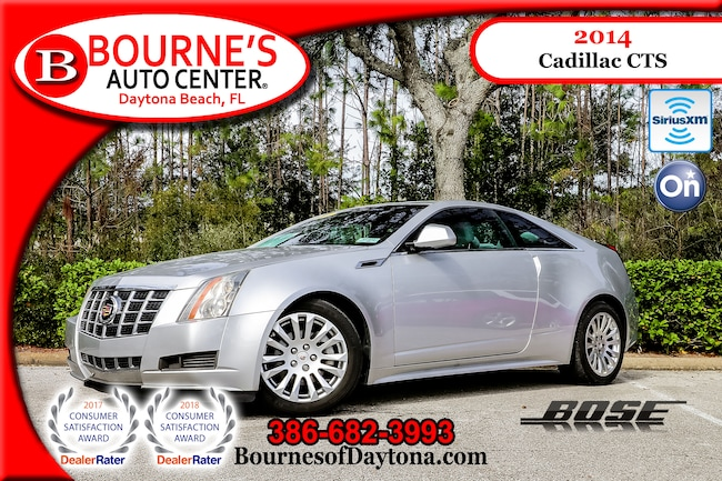 2014 Cadillac CTS Bose/ OnStar/ XM/ Leather Coupe