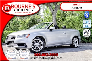 2015 Audi A3 1.8T (S Tronic) Nav/ XM/ Leather Cabriolet