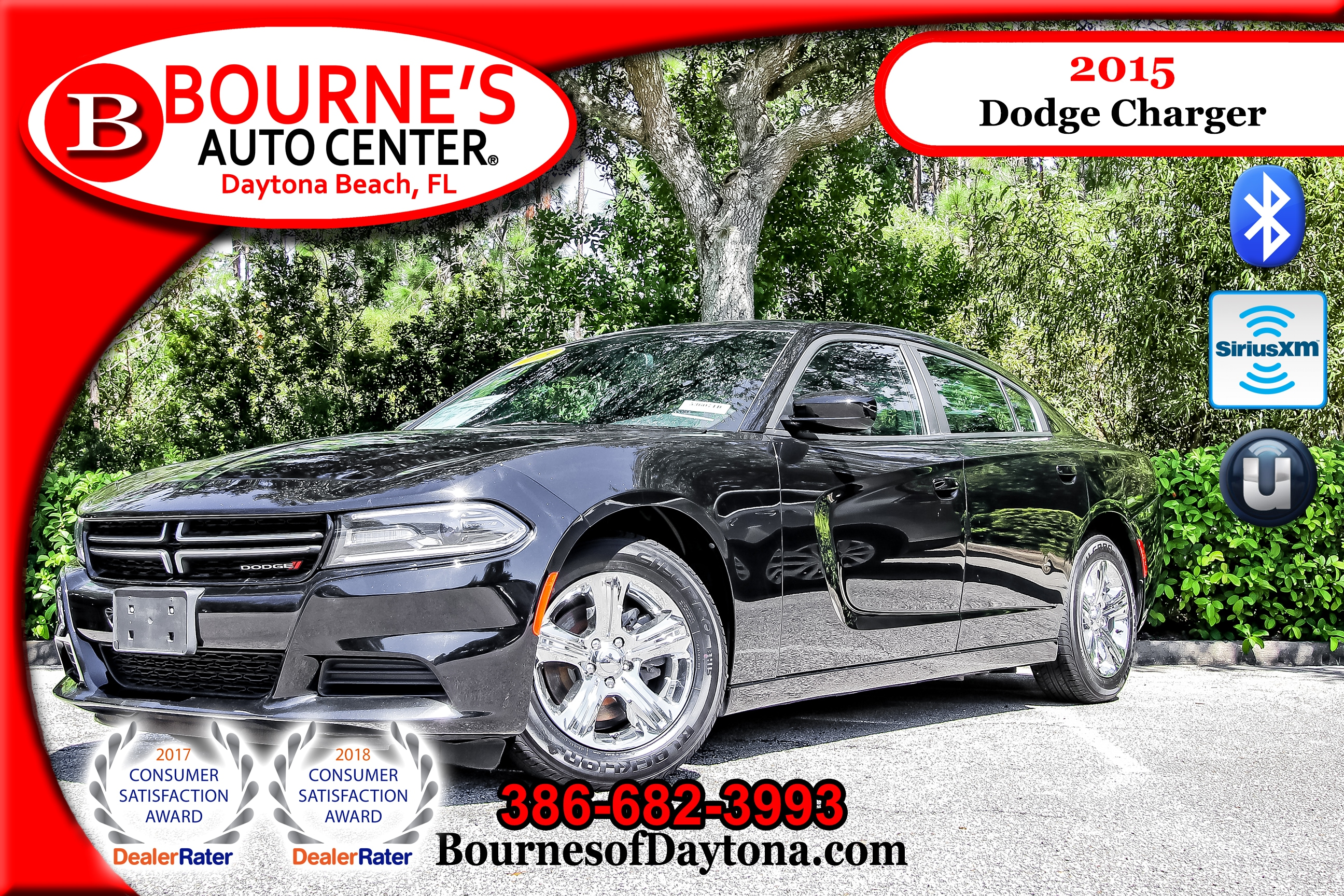 2015 Dodge Charger SE XM/ Bluetooth Sedan