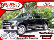 2016 Ford F-150 Lariat FX4 4x4 Sunroof/ Nav/ XM/ Leather Super Crew