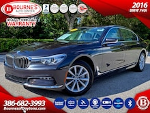 2016 BMW 740i w/Executive Package Sunroof/Nav/XM/Leather Sedan