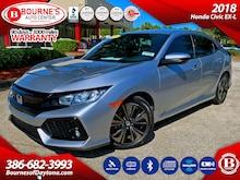 2018 Honda Civic EX-L w/Navigation,Leather,Sunroof Hatchback