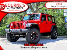 2015 Jeep Wrangler Unlimited 4x4 Lifted/ Oversized tires/ XM SUV
