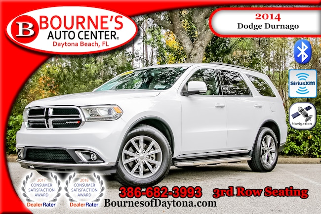 2014 Dodge Durango Limited Nav/ XM/ Bluetooth/ Leather SUV/ 3rd Row Seating