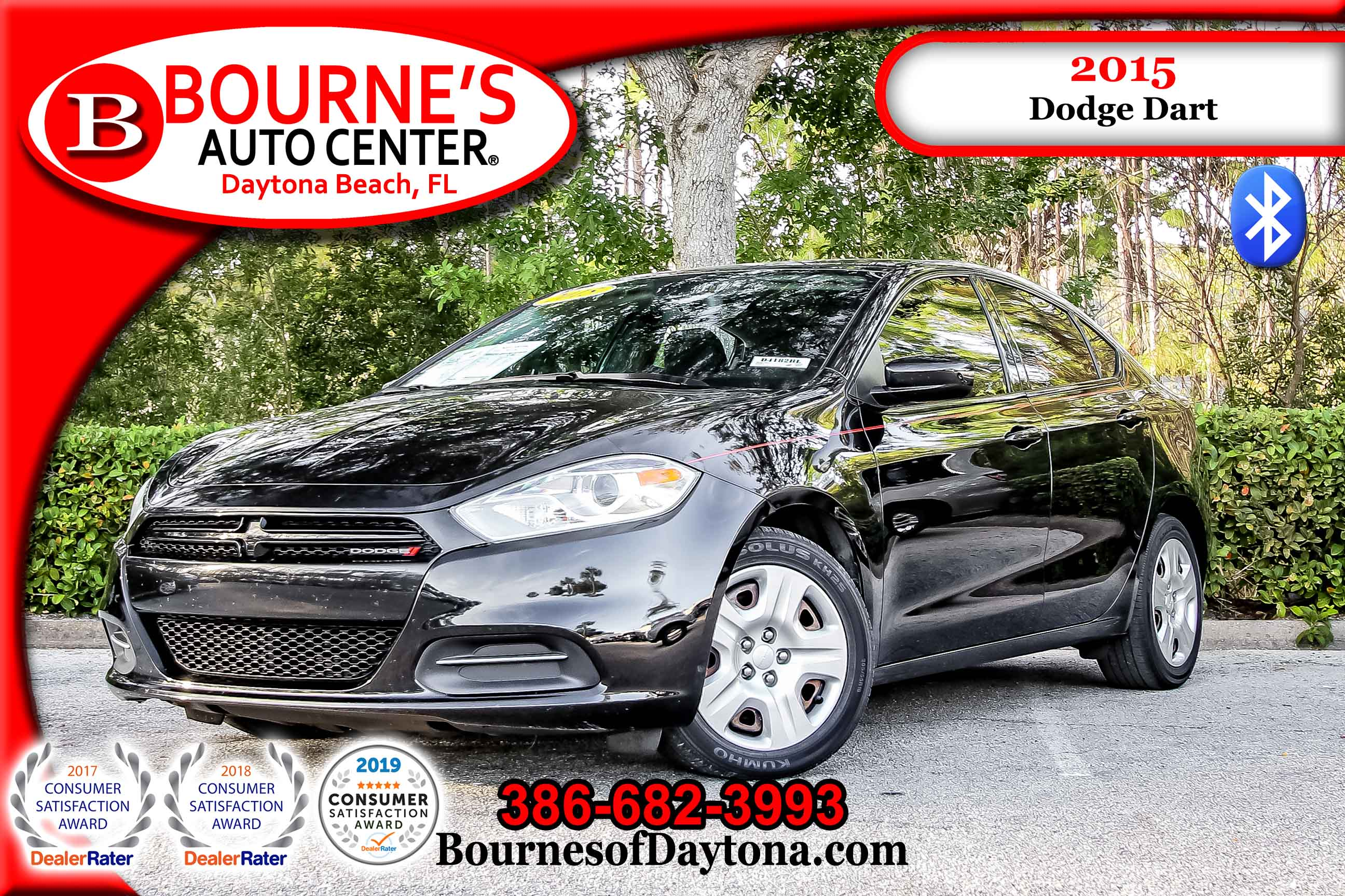 2015 Dodge Dart SE Bluetooth/ CD Sedan