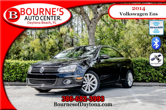 2014 Volkswagen Eos Komfort Nav/ XM/ Bluetooth/ Leather Hard Top Convertible