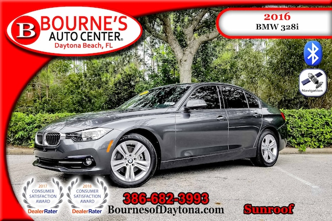 2016 BMW 328i Sunroof/ Nav/ Leather Sedan