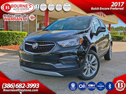 2017 Buick Encore Preferred w/Leather, Backup Camera, Bluetooth, Sir SUV