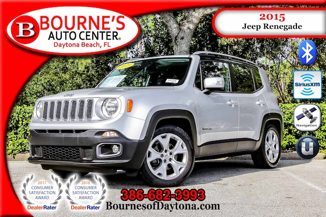 2015 Jeep Renegade Limited Nav/ XM/ Bluetooth/ Leather SUV