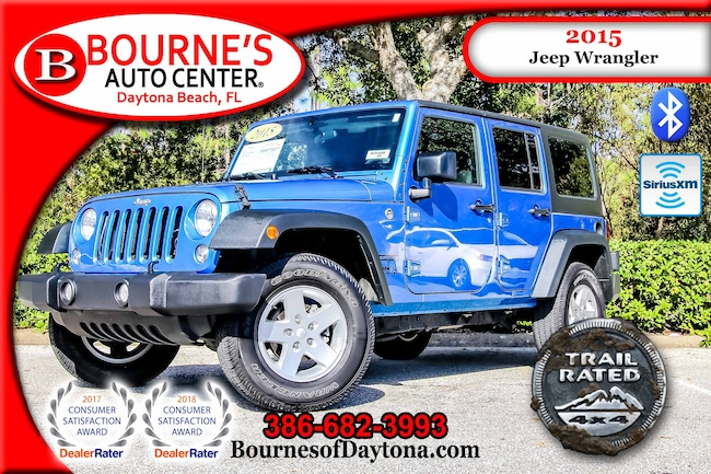 2015 Jeep Wrangler Unlimited Sport 4x4 XM/ Bluetooth SUV
