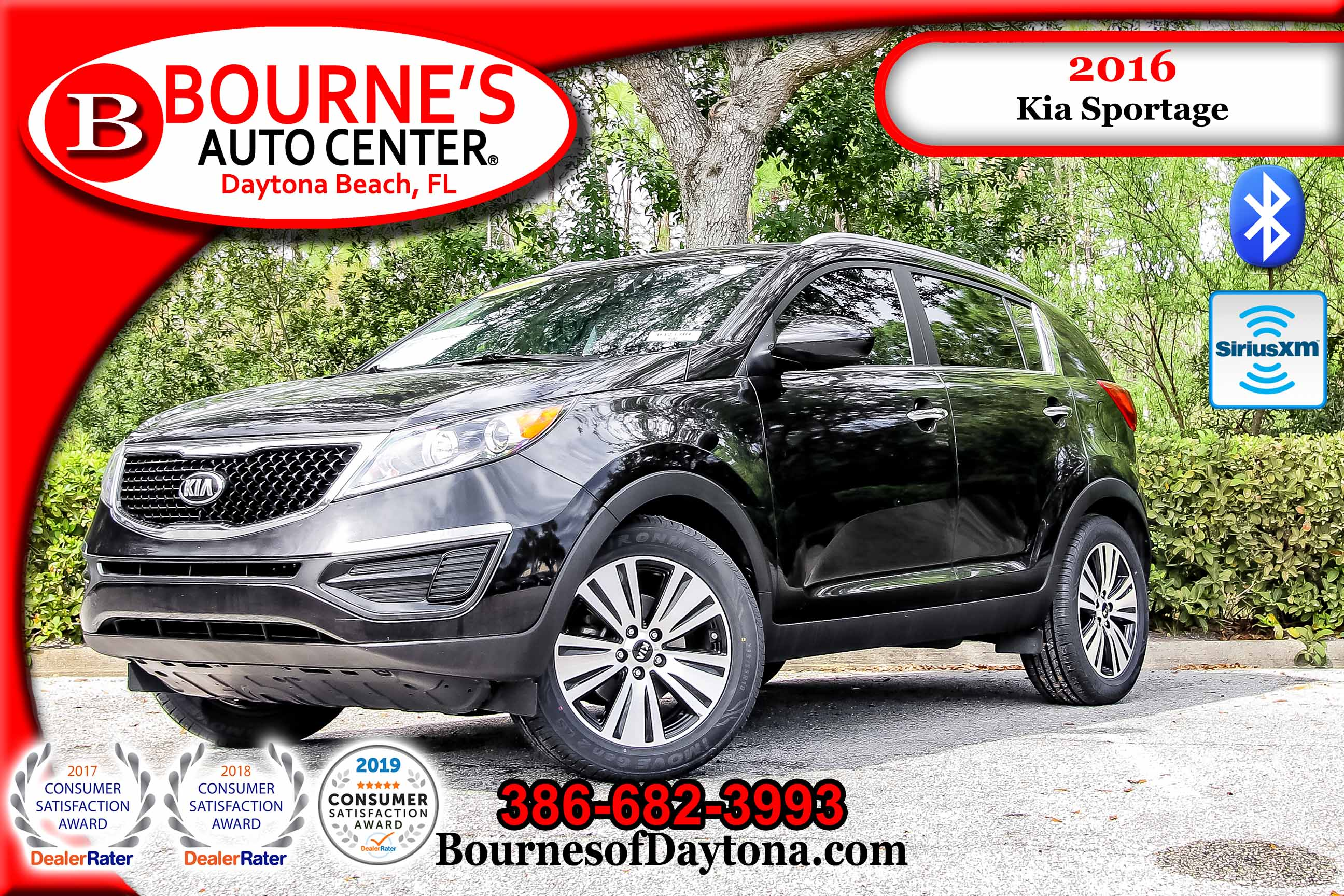 2016 Kia Sportage EX XM/ Bluetooth/ Leather SUV