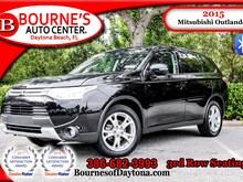 2015 Mitsubishi Outlander SE 3rd Row/ Bluetooth/ Leather SUV