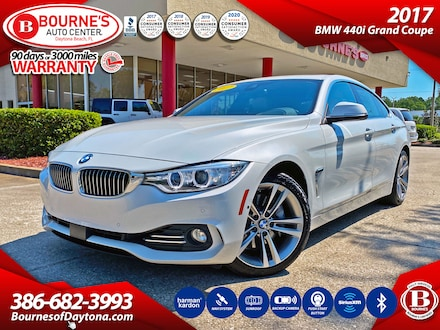 2017 BMW 440i w/ Leather, Sunroof, Navigation, Backup Camera Gran Coupe