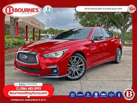 2018 INFINITI Q50 3.0t RED SPORT 400 w/Sunroof, Navigation,Sensory P Sedan