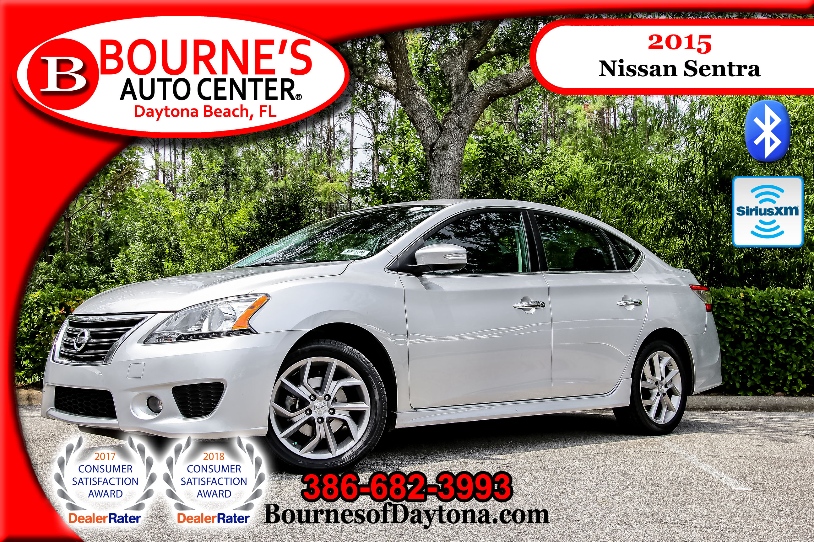 Used 2015 Nissan Sentra SR For Sale