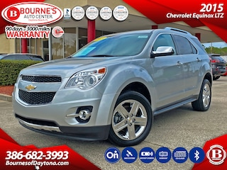 2015 Chevrolet Equinox LTZ w/Navigation,Leather,Sunroof,Bluetooth,Backup  SUV