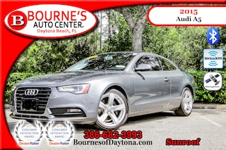 2015 Audi A5 2.0T Premium Sunroof/ Nav/ XM/ Leather Coupe