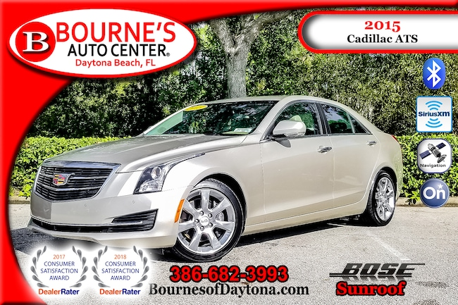 Used 2015 Cadillac Ats Luxury 2 0l Turbo For Sale At Bourne S Auto