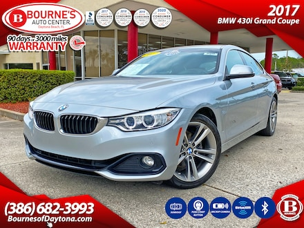 2017 BMW 430i w/SULEV, Leather, Sunroof, Backup Camera, Push Sta Gran Coupe