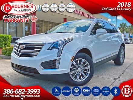2018 CADILLAC XT5 Luxury w/Navigation,Leather,Sunroof,Bluetooth SUV