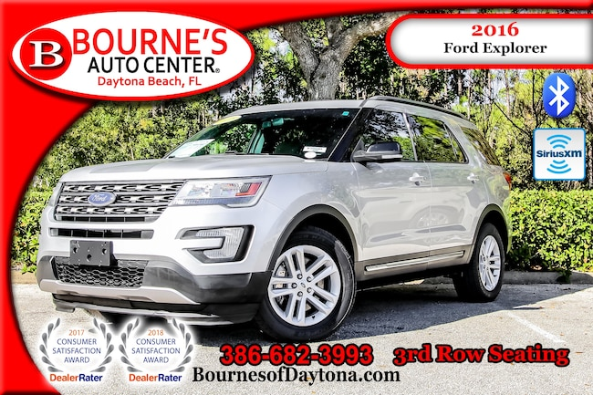 2016 Ford Explorer 3rd Row/ XM/ Bluetooth SUV