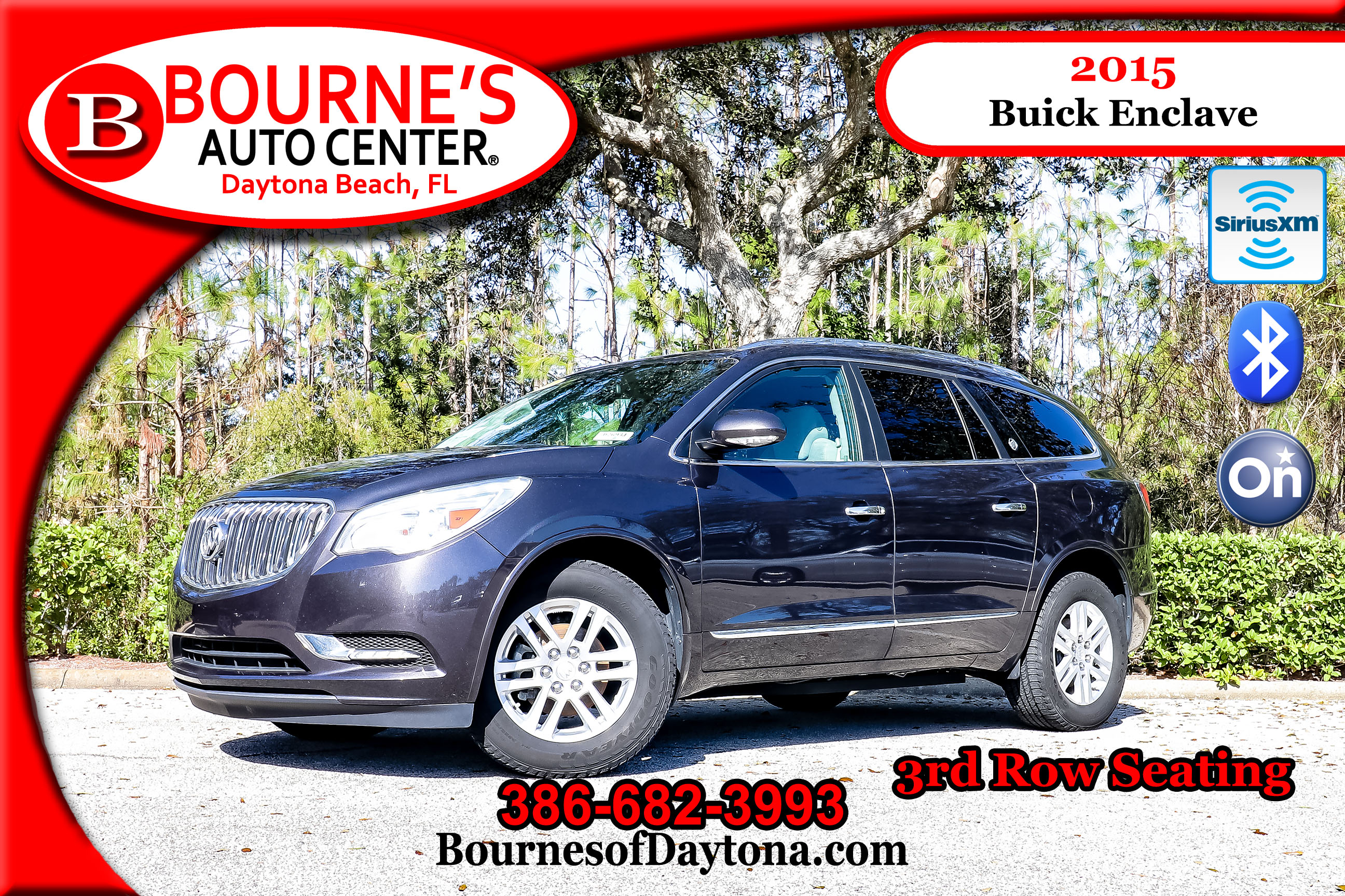 enclave sale buick awd for leather used vehicle