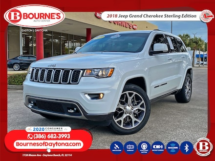 2018 Jeep Grand Cherokee Sterling Edition w/Navigation,Leather,Sunroof SUV
