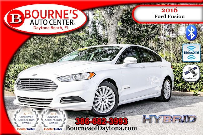 2016 Ford Fusion Hybrid SE Nav/ XM/ Bluetooth Sedan