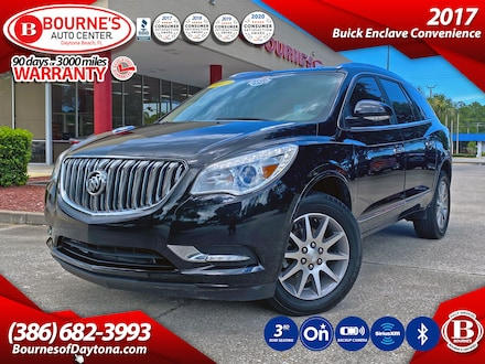 2017 Buick Enclave Convenience w/3rd Row Seating, Backup Camera, OnStar, Bluetooth, SiriusXM SUV