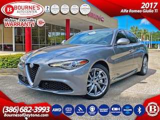 2017 Alfa Romeo Giulia Ti w/Leather, Navigation, Dual Sunroof, Push Start Button, Backup Camera, SiriusXM Sedan