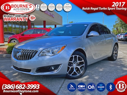 2017 Buick Regal Turbo Sport Touring w/Navigation,Leather,Bluetooth Sedan