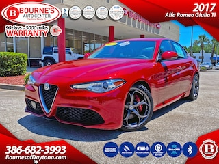2017 Alfa Romeo Giulia Ti w/Navigation,Leather,Bluetooth,Backup Camera Sedan