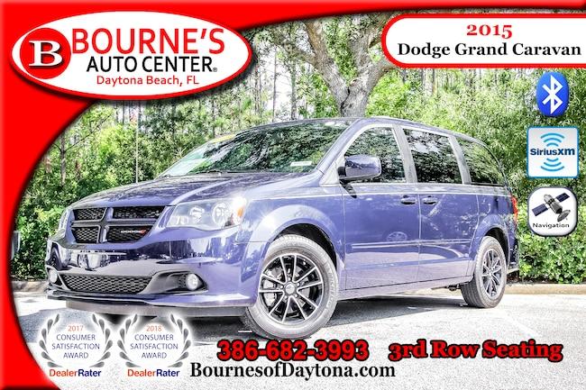 2015 Dodge Grand Caravan R/T 3rd Row/ Nav/ XM/ Leather Van