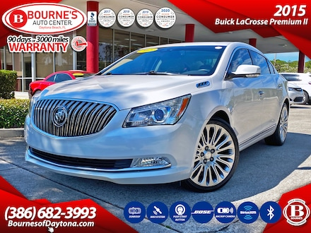 2015 Buick LaCrosse Premium II w/Leather, Sunroof, Bose, Navigation, B Sedan