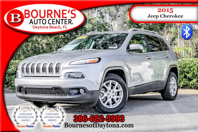 2015 Jeep Cherokee Latitude Bluetooth/ Fog Lights SUV