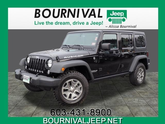 Certified Used 2015 Jeep Wrangler Unlimited Rubicon 4x4 For Sale in  Portsmouth NH | VIN: 1C4HJWFG7FL604143