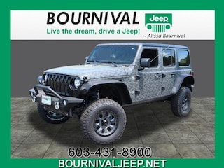 New 2019 Jeep Wrangler UNLIMITED SPORT S 4X4 Sport Utility in Portsmouth