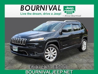 2016 Jeep Cherokee Limited 4x4 SUV in Portsmouth, NH