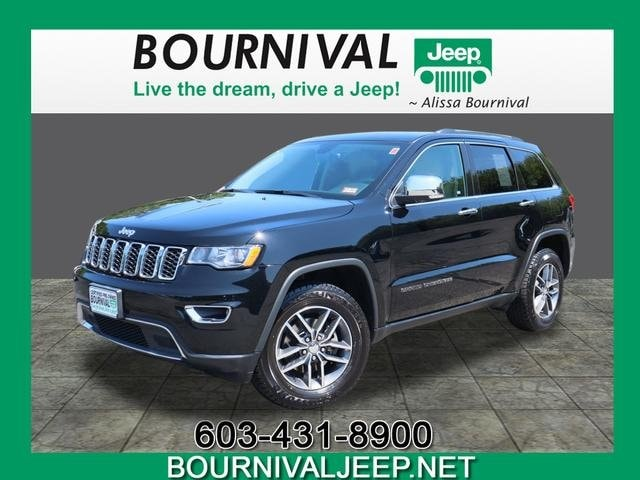 Certified Used 2017 Jeep Grand Cherokee Limited 4x4 For Sale in