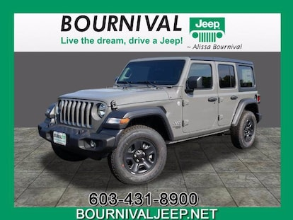 New 2021 Jeep Wrangler Unlimited Sport 4x4 For Sale In Portsmouth Nh Vin 1c4hjxdg0mw522484