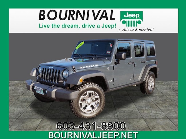 Used 2017 Jeep Wrangler Unlimited Rubicon 4x4 Rubicon  SUV Portsmouth