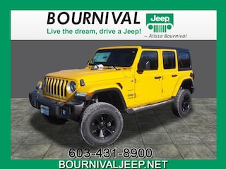 New 2019 Jeep Wrangler UNLIMITED SAHARA 4X4 Sport Utility in Portsmouth