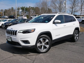 New 2019 Jeep Cherokee Limited 4x4 SUV in Portsmouth