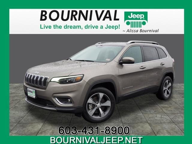 Certified Used 2019 Jeep Cherokee Limited 4x4 For Sale in Portsmouth NH |  VIN: 1C4PJMDX4KD107624