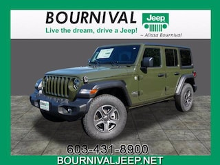 2020 Jeep Wrangler UNLIMITED SPORT S 4X4 Sport Utility in Portsmouth, NH