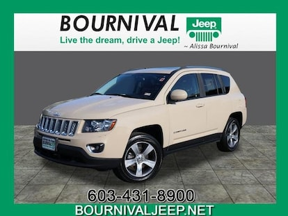 2016 Jeep Compass Latitude >> Certified Used 2016 Jeep Compass Latitude 4x4 For Sale In Portsmouth Nh Vin 1c4njdebxgd751081