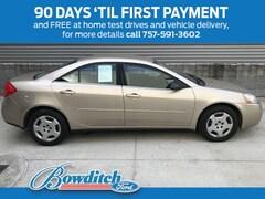 2007 Pontiac G6 4dr Sdn 1SV Value Leader Sedan