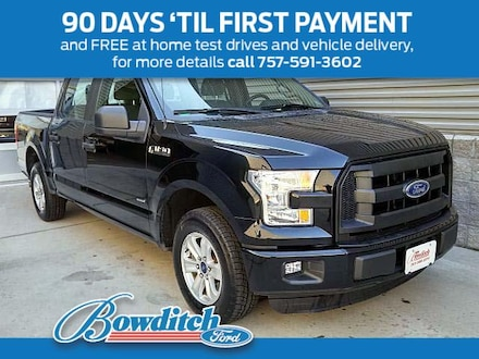 2016 Ford F-150 2WD Supercrew 145 XL Truck SuperCrew Cab