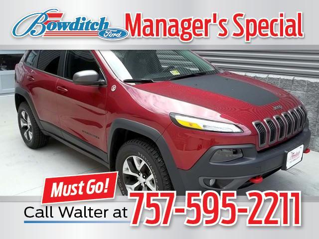 2017 Jeep Cherokee Trailhawk 4x4 *Ltd Avail* SUV